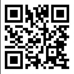 """QR-kod med innehållet """"http://kulturellaspar.se"""""""