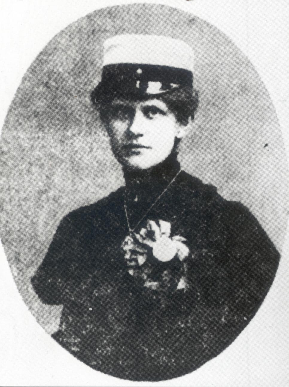 Betty Pettersson (1838-1885). Reproduktion: KvinnSam, Göteborgs universitetsbibliotek