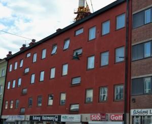 Kungsgatan 45.  Foto: Uppsala kommun