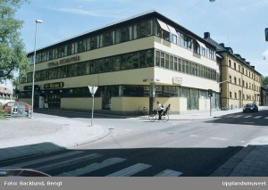 Studentkårens hus.  Foto: Bengt Backlund, Upplandmuseet