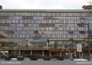 Stadshusets innergård.  Foto: Johan Dellbeck, Upplandmuseet