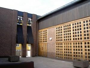 Almtunakyrkans innergård.  Foto: Ulf Klingström