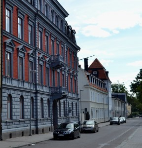 Bostadshus på Trädgårdsgatan 12 från 1887.  Foto: Uppsala kommun