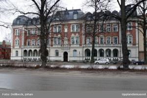 Bostadshus, Österplan 13, 1881. Foto: Johan Dellbeck, Upplandsmuseet
