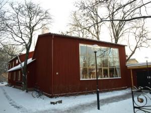 Bror Hjorths hus, Norbyvägen 26, 1943.  Foto: Public domain