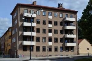 Bostadshus på S:t Johannesgatan 26. Foto: Uppsala kommun