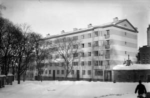 Kyrkogårdsgatan 26, okänt datum. Foto: Gunnar Sundgren