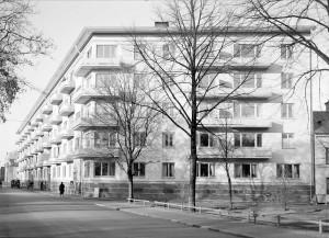 Börjegårdarna, okänt datum. Foto: Paul Sandberg