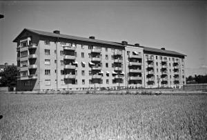 Leche Bild 7: Bostadsrättsföreningen Esplanaden, Luthagsesplanaden 24, okänt datum. Foto: Axel Sagerholm