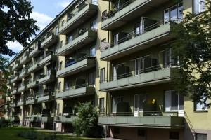 Bostadsrättsföreningen Neptunus nr 2, Luthagsesplanaden 26. Foto: Uppsala kommun