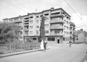 Östra Ågatan 59, 1936. Foto: Paul Sandberg, 1936
