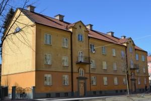 Brf Balder, Väderkvarnsgatan 29.  Foto: Uppsala kommun