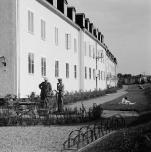 Studentstaden, troligen 1950-tal. Foto: Gunnar Sundgren