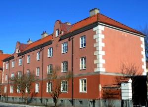Brf Fyris på Salagatan 34, Fålhagen.  Foto: Uppsala kommun