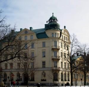 Grand Hotell Hörnan.  Foto: Public domain