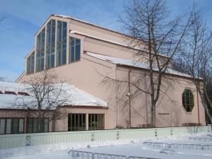 Gottsunda kyrka. Foto: Ulf Klingström