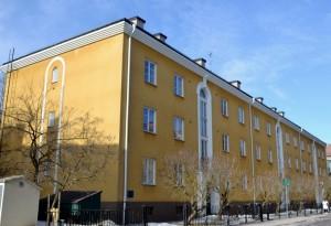 Bostadshus på Botvidsgatan 15-19 från 1928. Foto: Uppsala kommun
