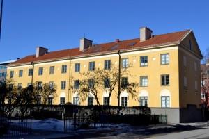 Föreningshus, Brf Göransgården på Salagatan 43 A-C från 1926. Foto: Uppsala kommun