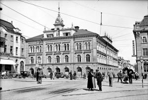 Rådhuset, okänt datum. Foto: Axel Sagerholm