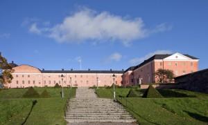 Borggården, Uppsala slott. Foto: David Castor