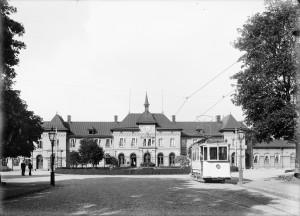 Uppsala centralstation, okänt datum. Foto: Paul Sandberg