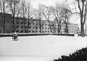 Klosettpalatset sett från Linnéträdgården.  Foto: Axele Sagerholm