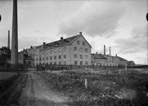 Upsala-Ekeby, troligtvis 1940-tal. Foto: Paul Sandberg