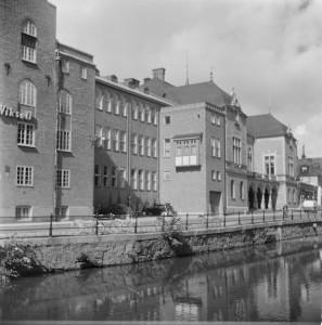 Almqvist & Wiksell, troligtvis 1950-tal. Foto: Gunnar Sundgren