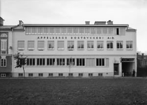 Appelbergs Boktryckeri. Foto: Paul Sandberg